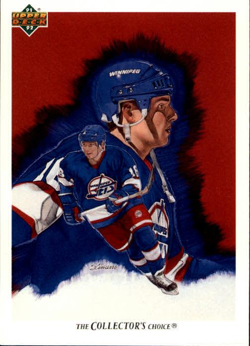 1991-92 Upper Deck #99 Ed Olczyk/(Winnipeg Jets TC)