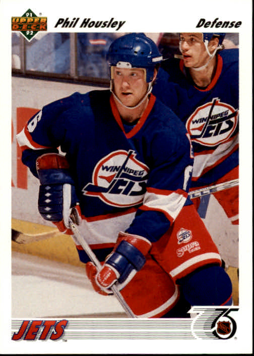 1991-92 Upper Deck #106 Phil Housley