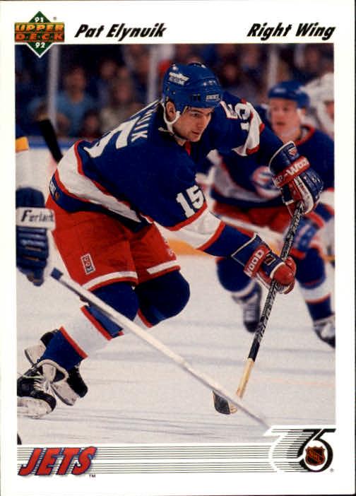 1991-92 Upper Deck #109 Pat Elynuik