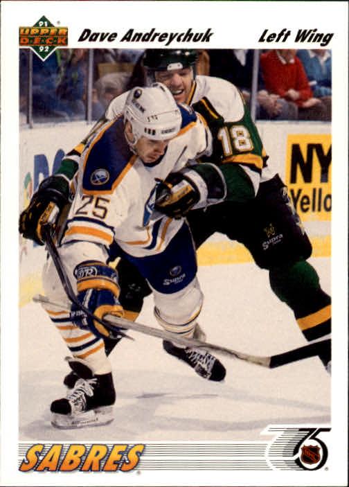 1991-92 Upper Deck #124 Dave Andreychuk