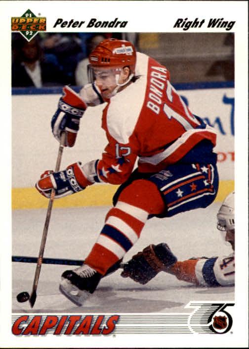 1991-92 Upper Deck #131 Peter Bondra