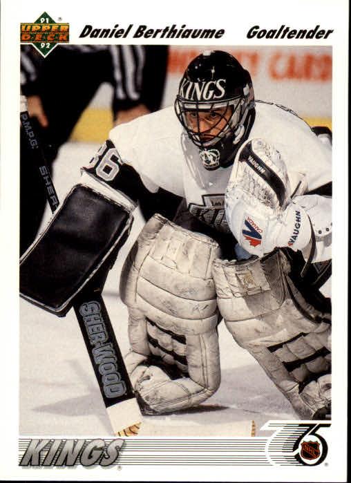 1991-92 Upper Deck #150 Daniel Berthiaume