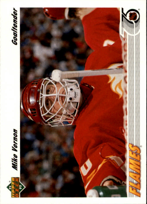 1991-92 Upper Deck #163 Mike Vernon
