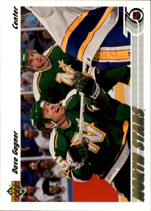 1991-92 Upper Deck #180 Dave Gagner