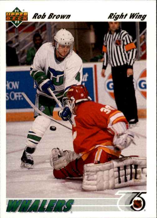 1991-92 Upper Deck #198 Rob Brown