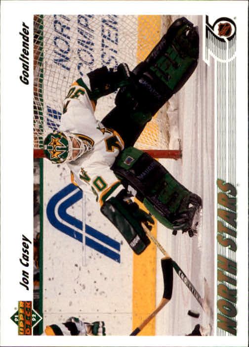 1991-92 Upper Deck #205 Jon Casey