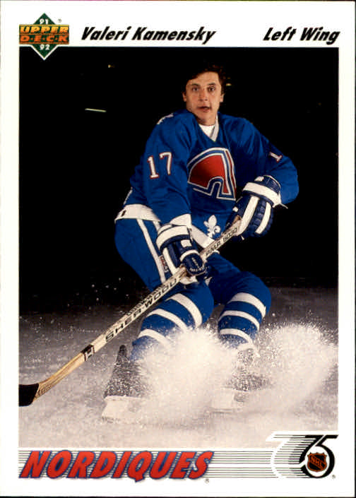 1991-92 Upper Deck #273 Valeri Kamensky RC