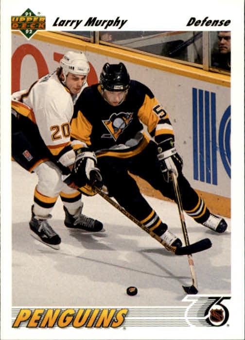 1991-92 Upper Deck #302 Larry Murphy