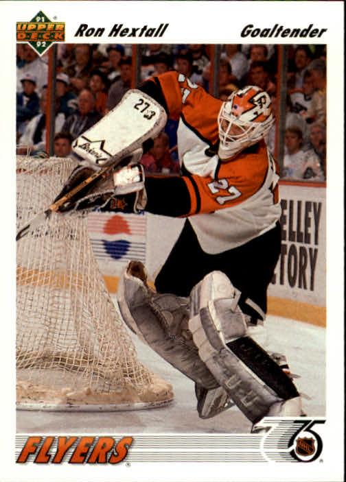 1991-92 Upper Deck #327 Ron Hextall