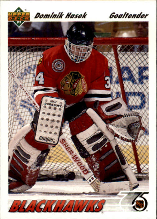 1991-92 Upper Deck #335 Dominik Hasek RC