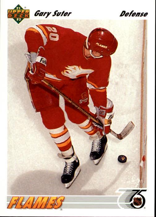1991-92 Upper Deck #341 Gary Suter