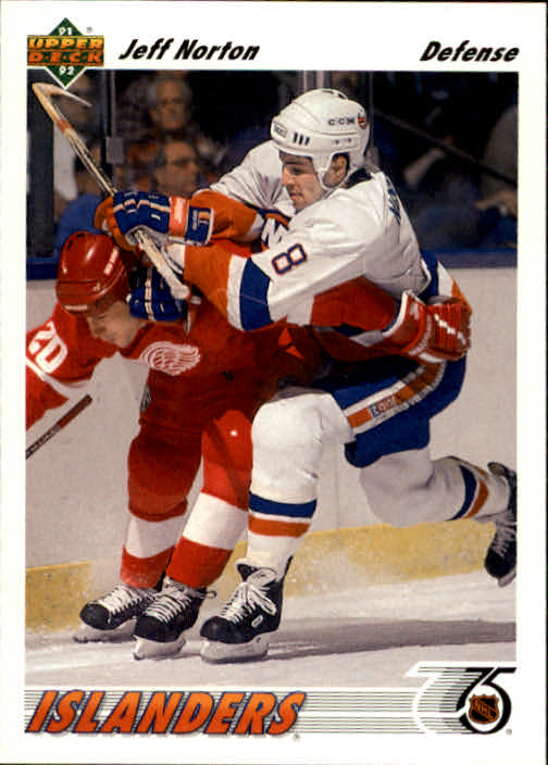 1991-92 Upper Deck #357 Jeff Norton