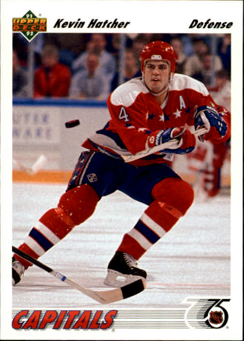 1991-92 Upper Deck #361 Kevin Hatcher