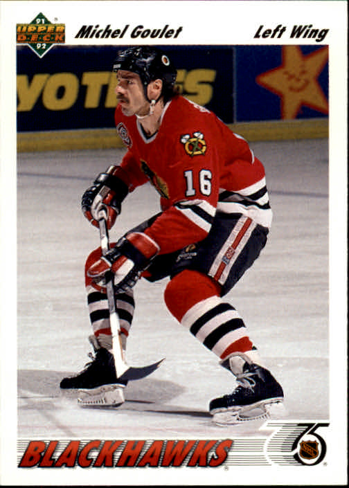 1991-92 Upper Deck #374 Michel Goulet