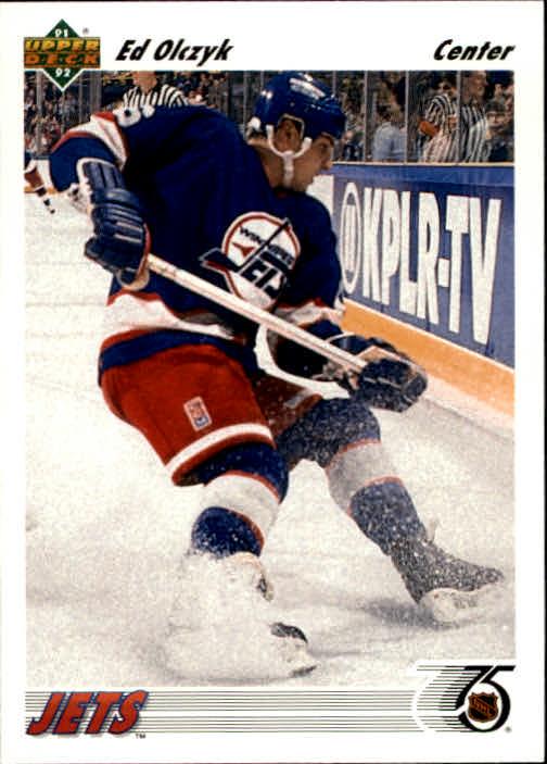 1991-92 Upper Deck #387 Ed Olczyk