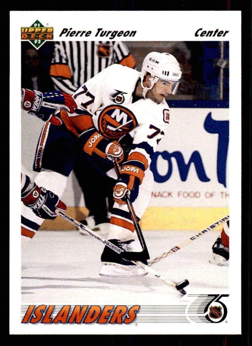 1991-92 Upper Deck #554 Pierre Turgeon