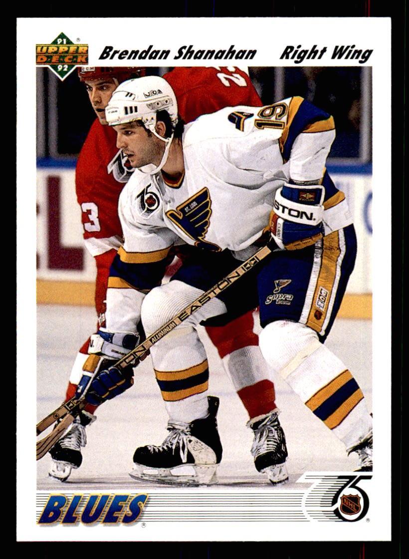 1991-92 Upper Deck #561 Brendan Shanahan