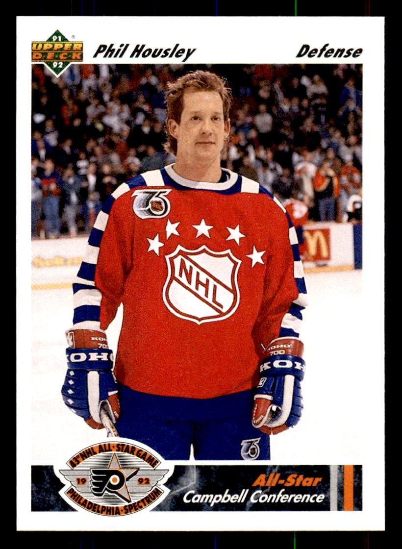 1991-92 Upper Deck #624 Phil Housley AS