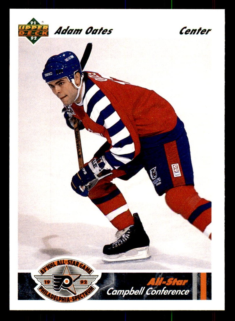 1991-92 Upper Deck #627 Adam Oates AS