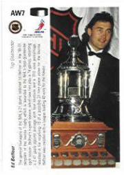 1991-92 Upper Deck Award Winner Holograms #AW7 Ed Belfour back image