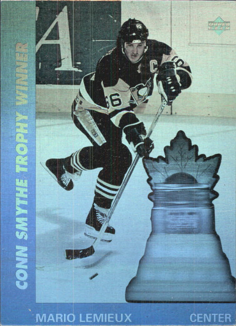1991-92 Upper Deck Award Winner Holograms #AW9 Mario Lemieux