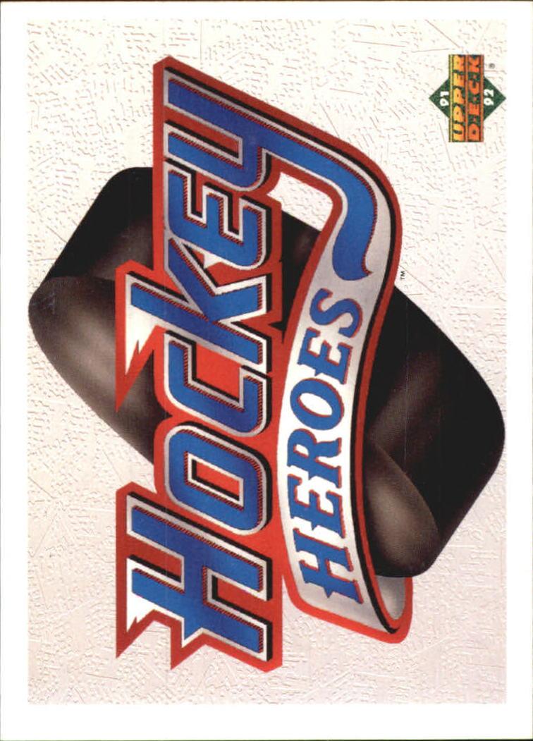 1991-92 Upper Deck Brett Hull Heroes #9AU Brett Hull AU/2500