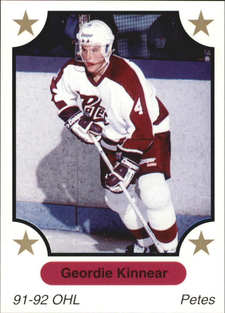 1991-92 7th Inning Sketch OHL #132 Geordie Kinnear