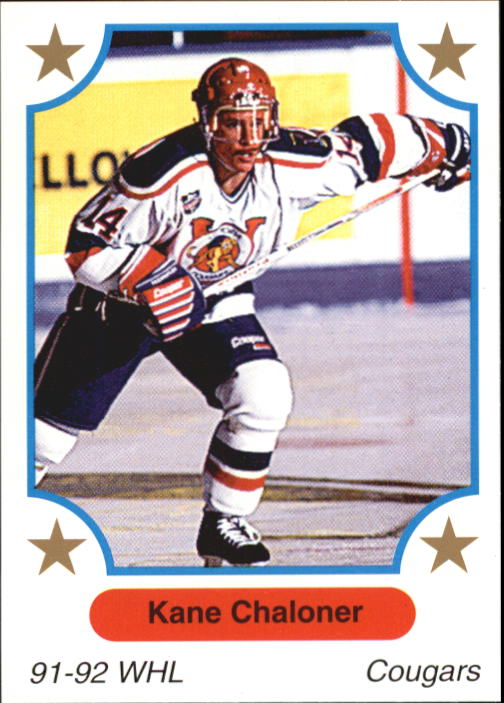1991-92 7th Innning Sketch WHL #58 Kane Chaloner