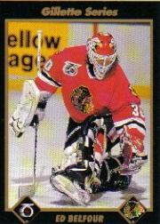 1991-92 Gillette #18 Ed Belfour