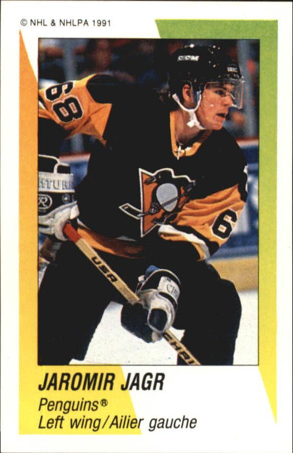 1991-92 Panini Stickers #344 Jaromir Jagr