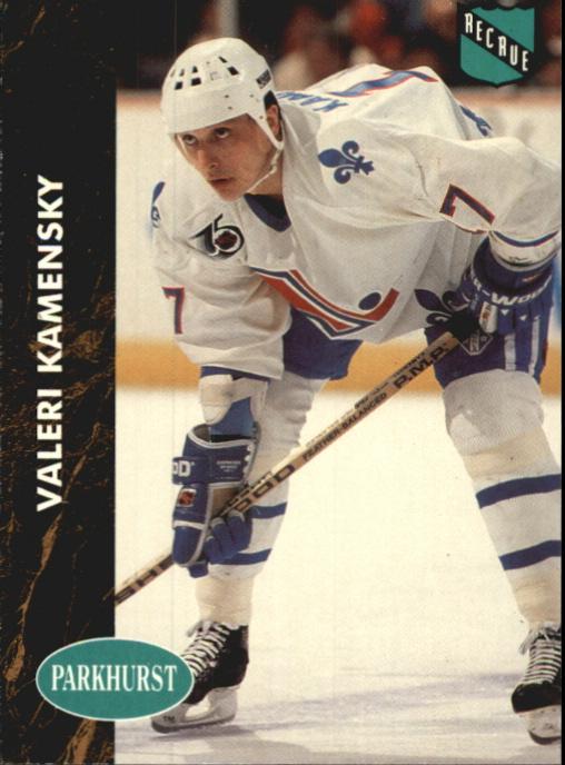 1991-92 Parkhurst French #362 Valeri Kamensky RC