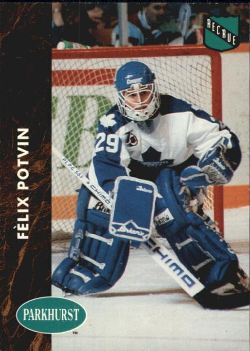 1991-92 Parkhurst French #398 Felix Potvin