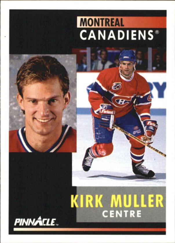 1991-92 Pinnacle French #3 Kirk Muller