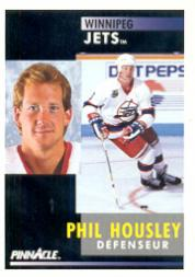 1991-92 Pinnacle French #4 Phil Housley