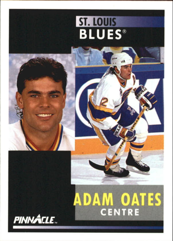1991-92 Pinnacle French #6 Adam Oates