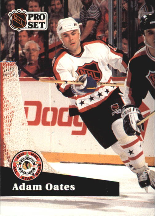 1991-92 Pro Set French #291 Adam Oates AS