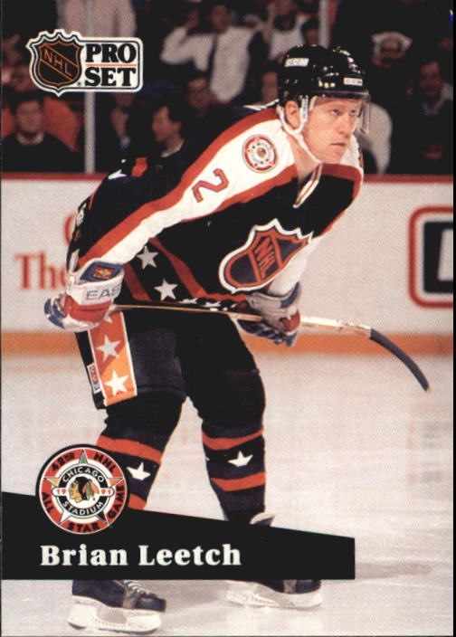 1991-92 Pro Set French #309 Brian Leetch AS
