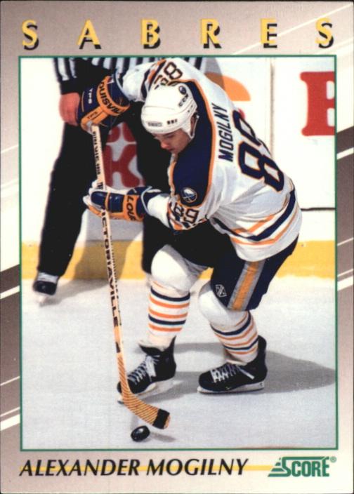 1991-92 Score Young Superstars #13 Alexander Mogilny