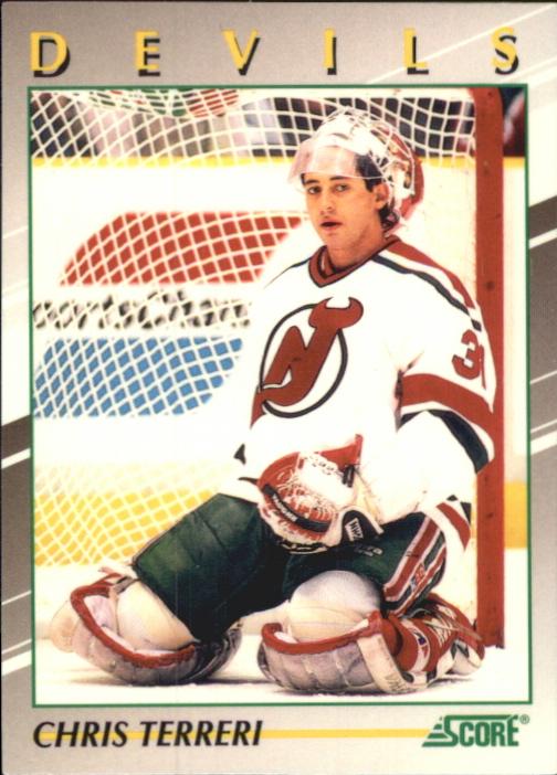 1991-92 Score Young Superstars #15 Chris Terreri