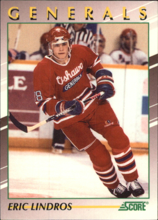 1991-92 Score Young Superstars #30 Eric Lindros