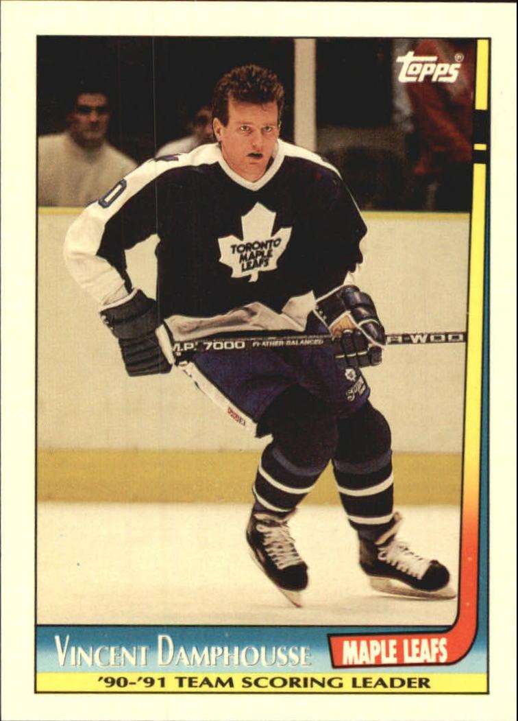 1991-92 Topps Team Scoring Leaders #9 Vincent Damphousse