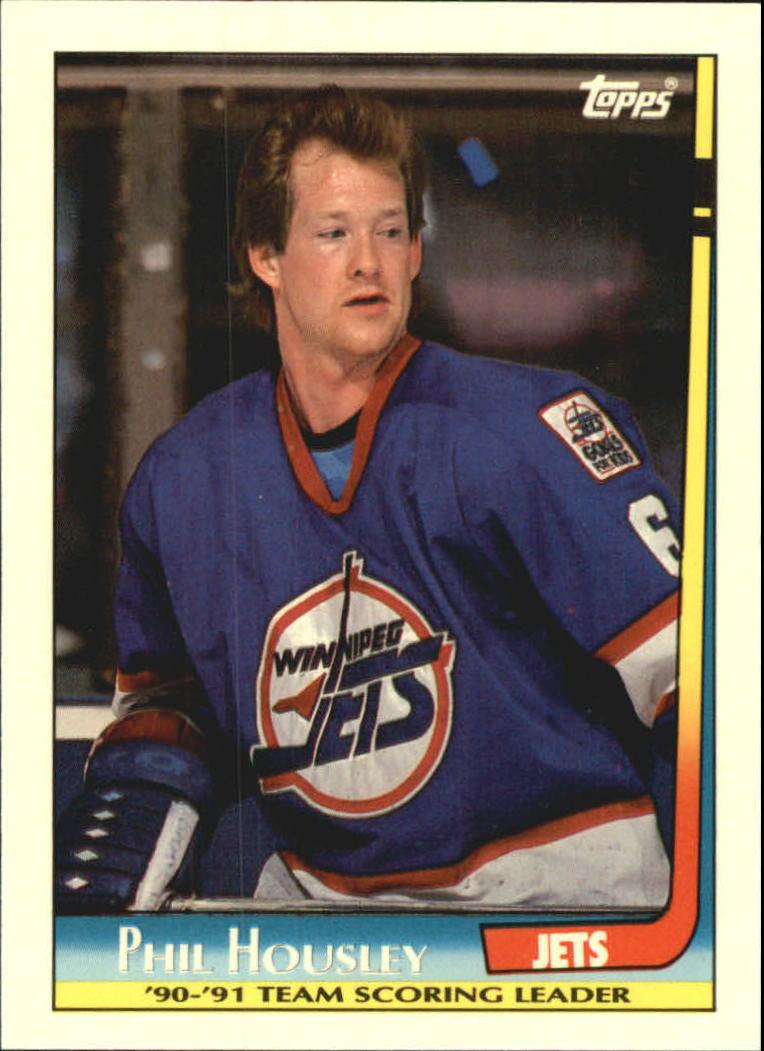 1991-92 Topps Team Scoring Leaders #11 Phil Housley