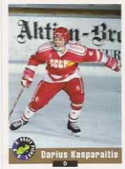 1992 Classic #4 Darius Kasparaitis
