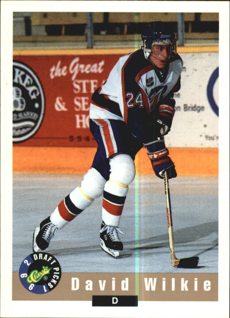 1992 Classic #11 David Wilkie