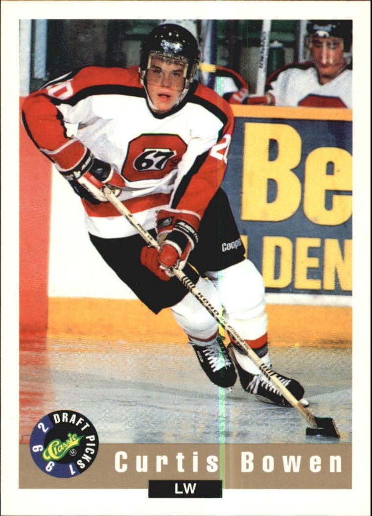 1992 Classic #12 Curtis Bowen