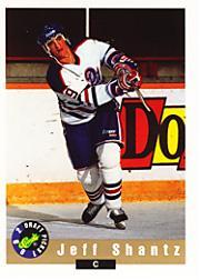 1992 Classic #15 Jeff Shantz