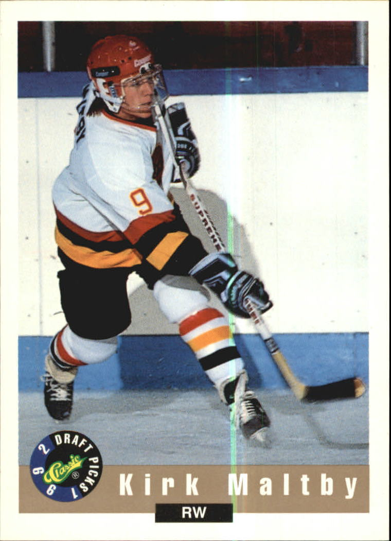 1992 Classic #20 Kirk Maltby