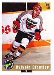 1992 Classic #22 Sylvain Cloutier