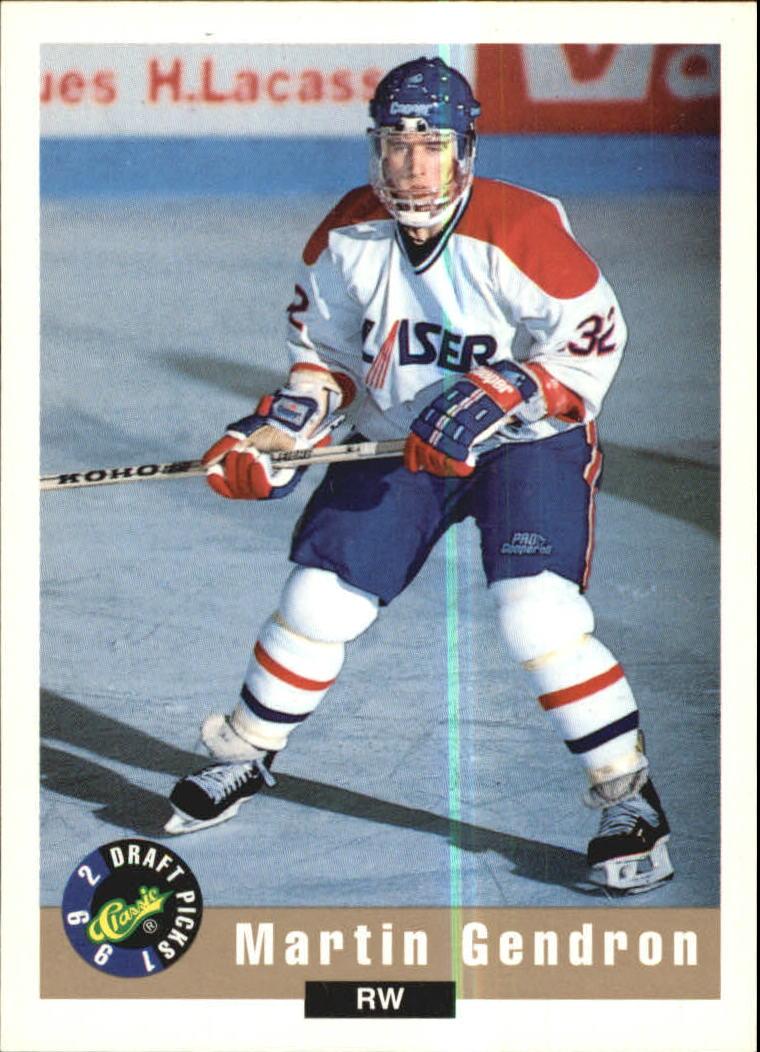 1992 Classic #23 Martin Gendron