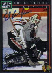 1992 High-5 Previews #P6A Ed Belfour AU/1500